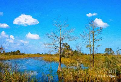 Painting - Old Florida by Tammy Lee Bradley