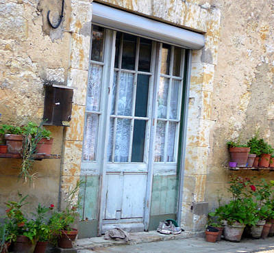 France Doors Photograph - Old French Entree Southwest by Dagmar Batyahav