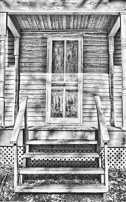 Old Front Porch Print by Vicki McLead