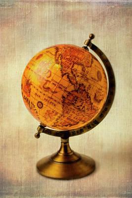 Old Globe Print by Garry Gay
