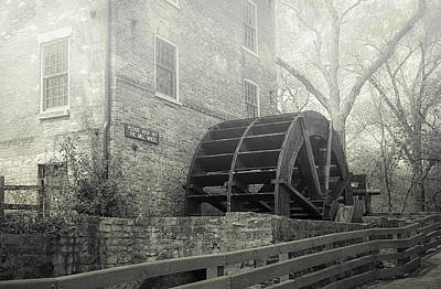 Old Graue Mill Print by Julie Palencia