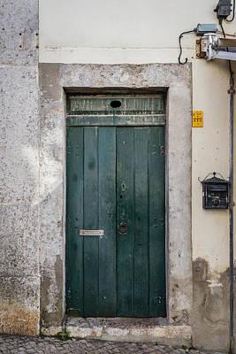 Old Green Door Original by Marco Oliveira