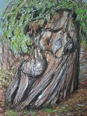 Old Growth, New Growth Print by Sue Williams