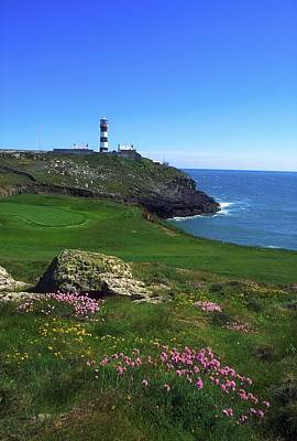 Golf Photograph - Old Head Of Kinsale Lighthouse by The Irish Image Collection