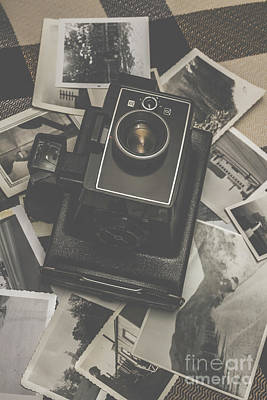 Classic Collection Photograph - Old History Camera by Jorgo Photography - Wall Art Gallery