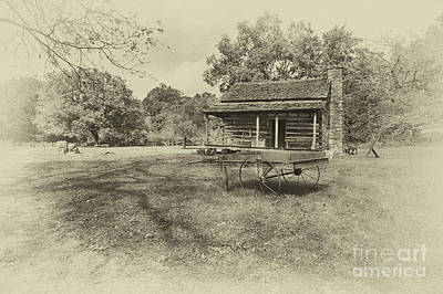 Old Homestead Print by Tom Gari Gallery-Three-Photography