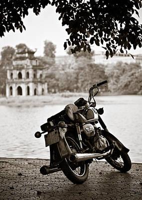 Hanoi Photograph - Old Honda by Dave Bowman