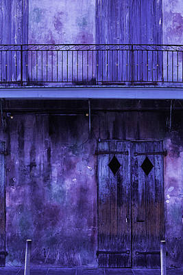 Balcony Photograph - Old Jazz Club by Garry Gay