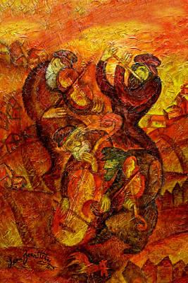 Old Klezmer Music Original by Leon Zernitsky