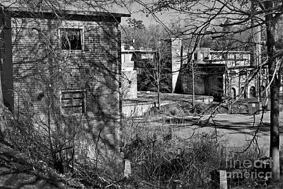 Old Lexington Mill Sc Print by Skip Willits
