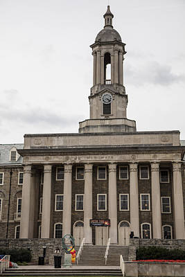 Penn State University Photograph - Old Main Penn State From Front  by John McGraw