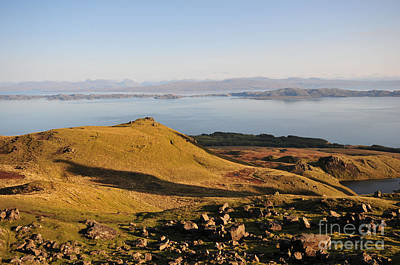 Old Man Of Storr Views Print by Stephen Smith