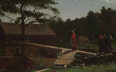 Old Mills Painting - Old Mill  by Winslow Homer
