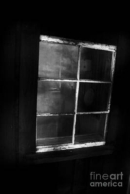 Old Miners Cabin Window Print by Jorgo Photography - Wall Art Gallery