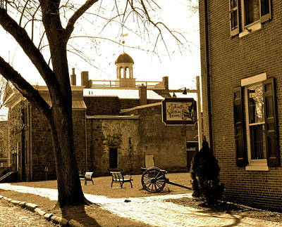 Old New Castle Print by Bradley Smith