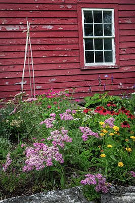 Old New England Summer Print by Bill Wakeley