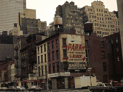 Framed Photograph - Old New York City Photograph by Art America Online Gallery