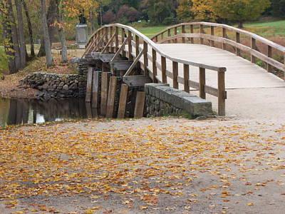 Old North Bridge Original by Tracy Dugas