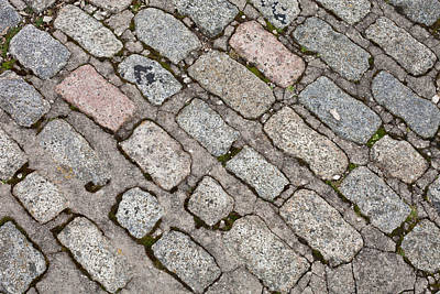 Old Paving Stones Print by Tom Gowanlock