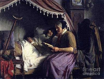 Carl Bloch Painting - Old People by MotionAge Designs