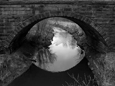 Old Railroad Bridge Print by Michael L Kimble