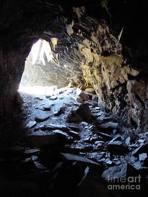 Landscape Photograph - Old Railroad Tunnel by Dora Miller