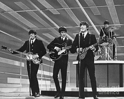 Fab Four Digital Art - Old Rare Beatles by Pd