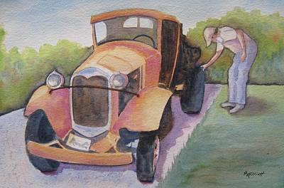 Old Relic Original by Marsha Elliott