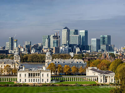 Royal Naval Chapel Photograph - Old Royal Naval College In Greenwich Village, London by Frank Bach