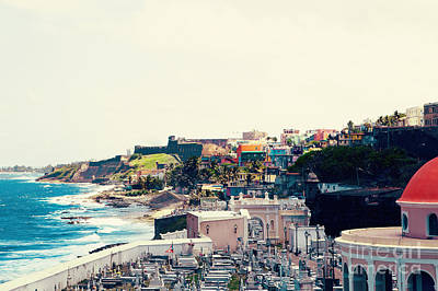 Beach Photograph - Old San Juan Puerto Rico by Kim Fearheiley