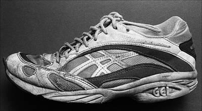 Sneaker Photograph - Old Shoe by Robert Ullmann