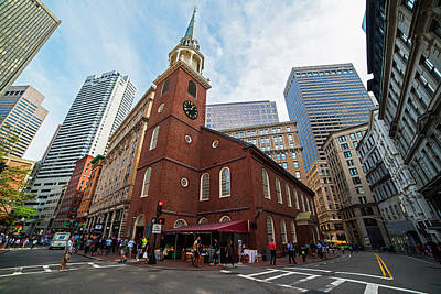 Old South Meeting House Boston Ma Print by Toby McGuire