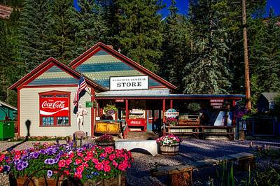 Old Time General Store Print by Mountain Dreams