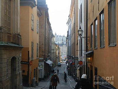 Architecture Photograph - Old Town Stockholm by Margaret Brooks