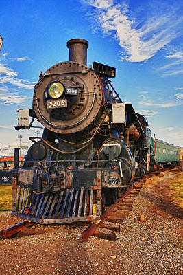Vertical Photograph - Old Train by Garry Gay