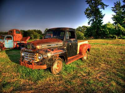Old Truck 1 Original by Lawrence Christopher
