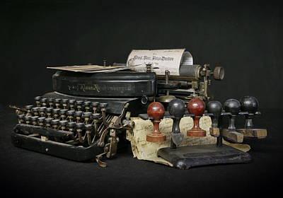 Old Typewriter Original by Dagmar Luhringova