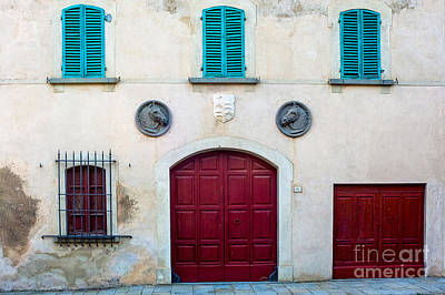 Old Villa Stables Print by Prints of Italy