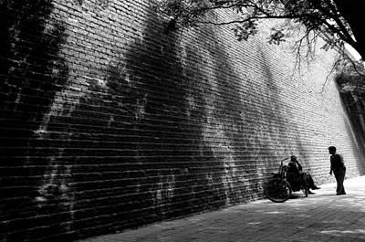 Old Wall Print by Lian Wang