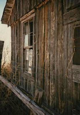 Photograph - Old Wooden Building by B L Qualls