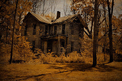 Abandoned Houses Photograph - Olden Golden by Emily Stauring