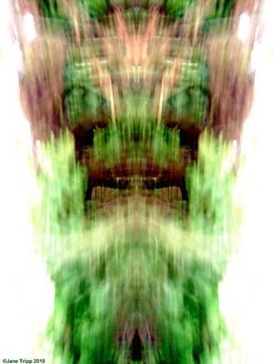 Older Gods Print by Jane Tripp