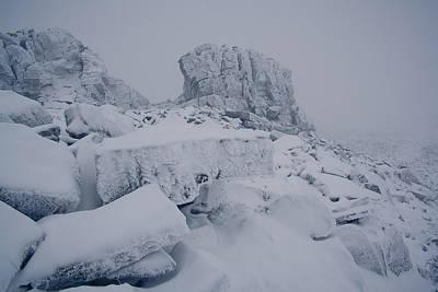 Oldest Mountains Original by Anton Troshkov