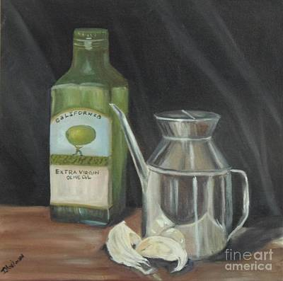 Olive Oil Print by Isabel Honkonen