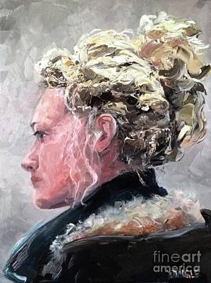 Olivia Painting - Olivia 2 by Diane Daigle