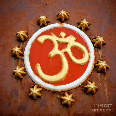 Om Print by Dev Gogoi