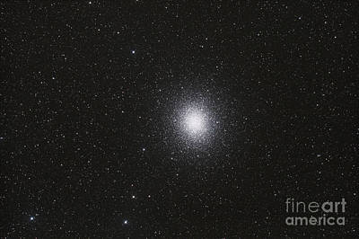 Omega Centauri Globular Star Cluster Print by Philip Hart