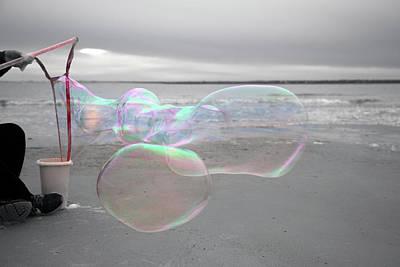 Bubbles Photograph - Omerta 20170101 by Betsy Knapp