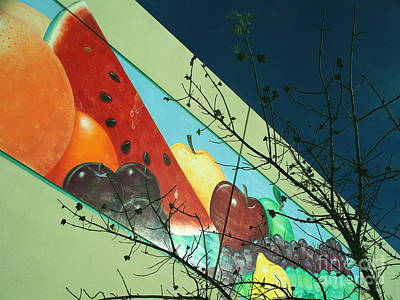 Ominous Fruit Print by Chuck Taylor
