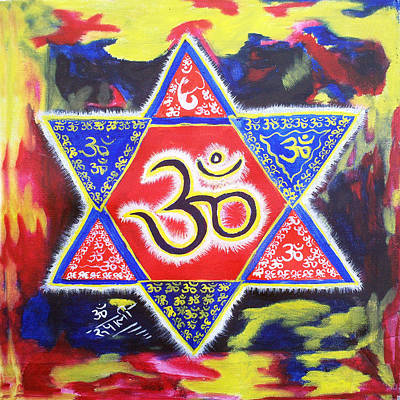 Tantra Painting - Omkar by Rupali Sharma